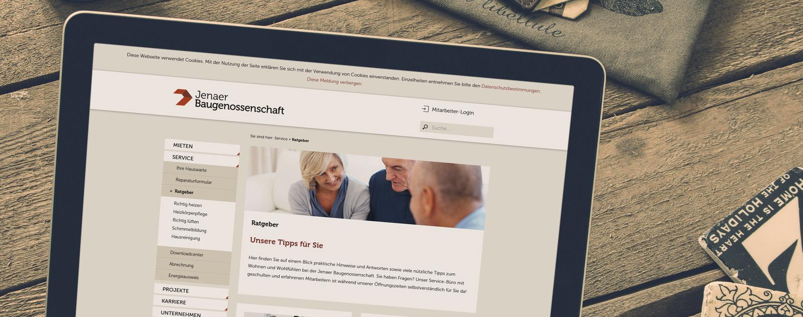 Projekt-Launch: Jenaer Baugenossenschaft
